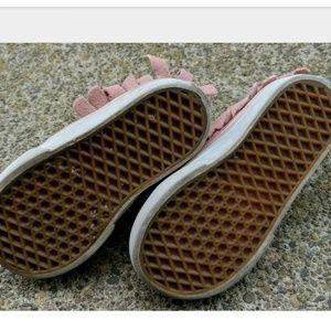 Vans Shoes - Vans Pink Moccasin Sneaker Shoe Toddler Youth 6